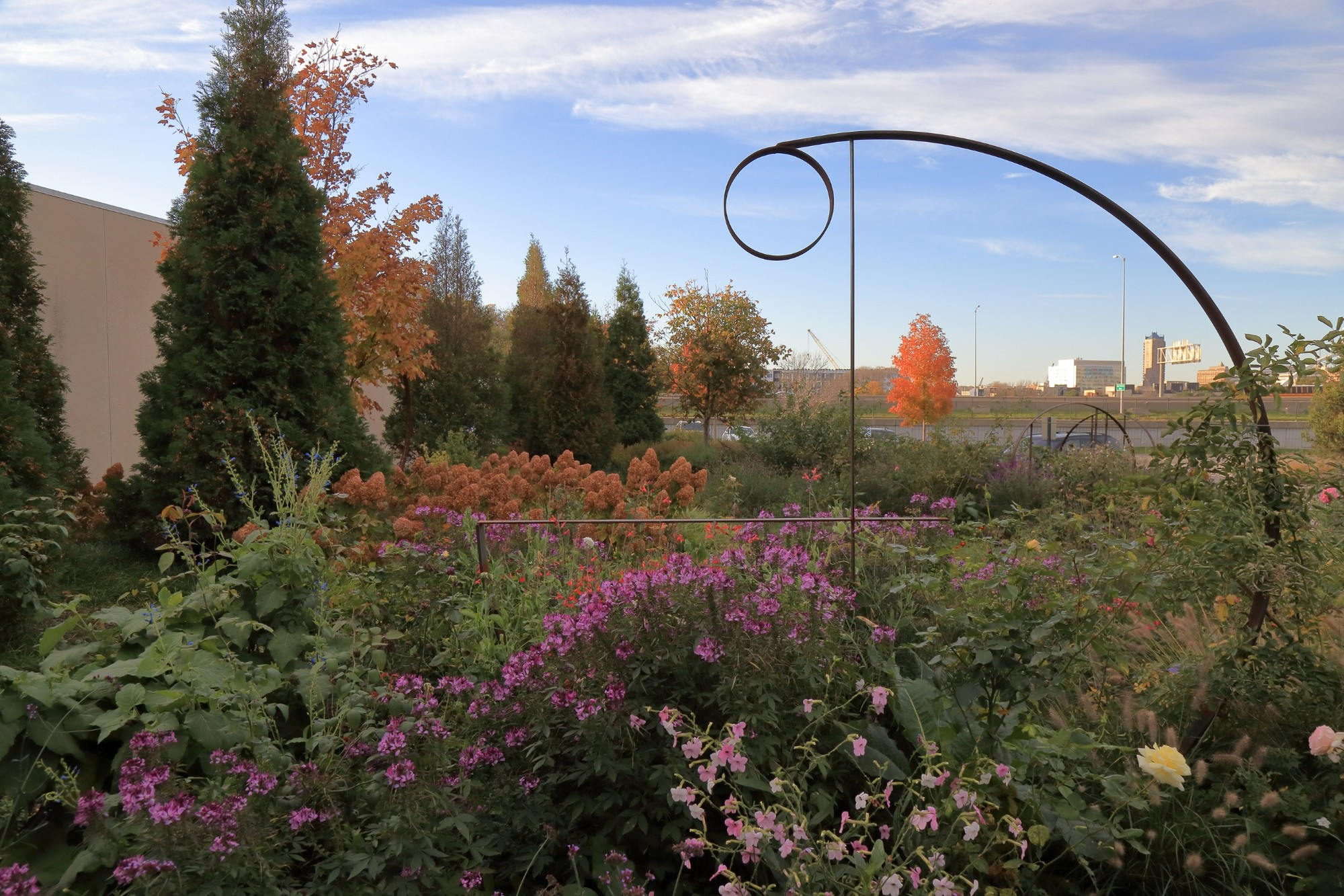 The Wells Fargo Rose Garden on October 26. Photo by Kelly Norris.