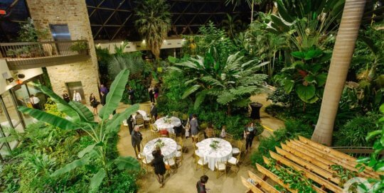 Event on the conservatory main floor. Photo by Complete Weddings + Events.