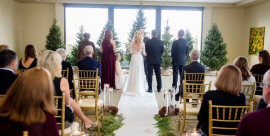 DuPont Room ceremony. Photo by Ivory House Photography.